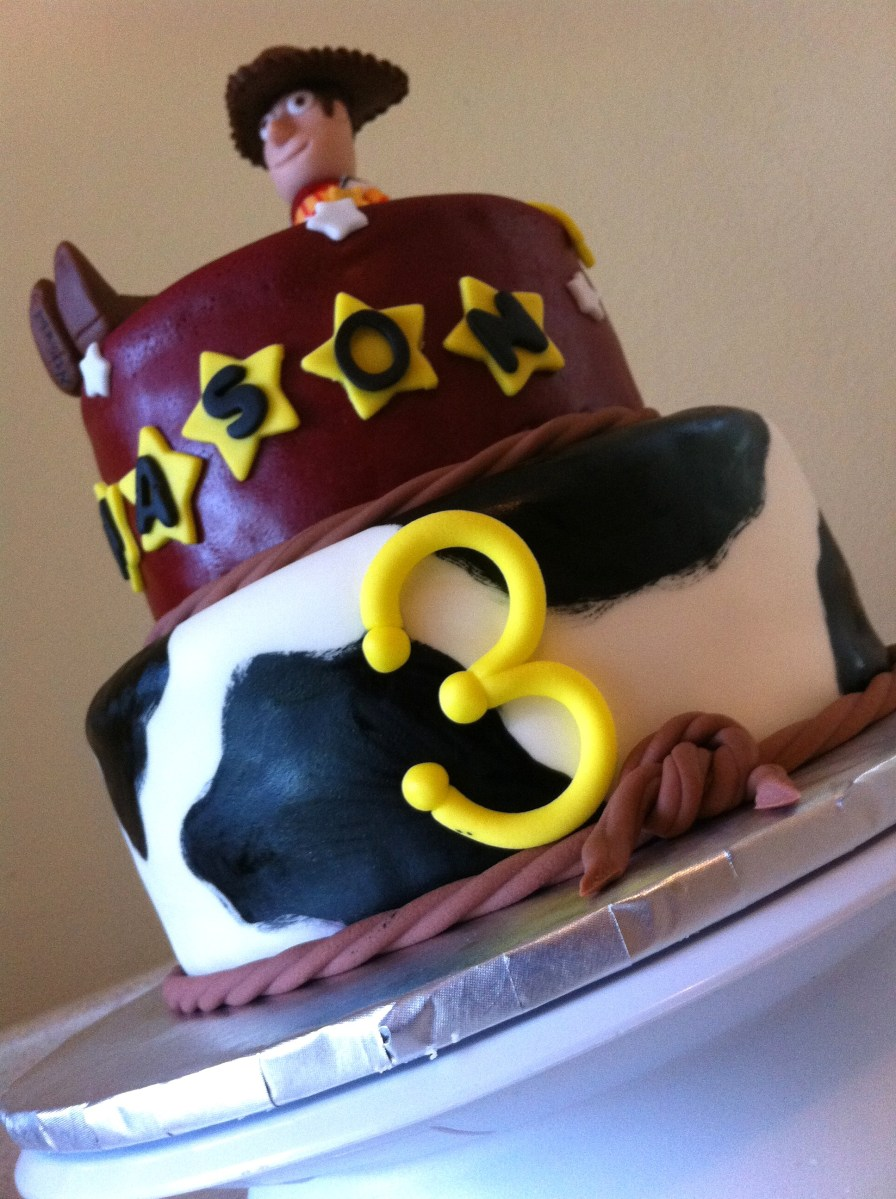 3rd birthday Toy Story birthday cake