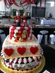 50th Anniversary Poker cake 5