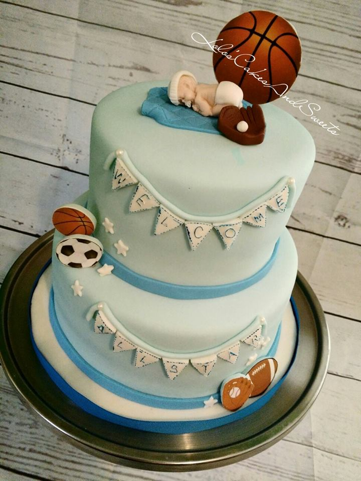 Baby Shower Cakes Lolo S Cakes Amp Sweets