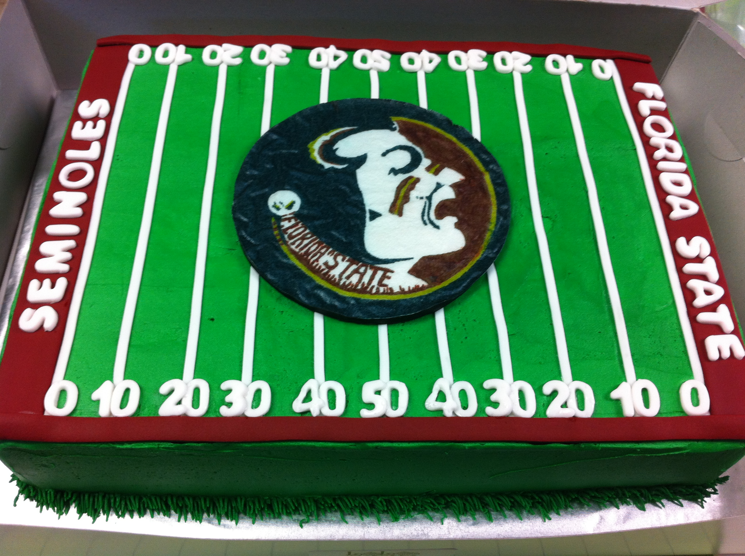 Fsu Grooms Cake Lolo S Cakes Amp Sweets