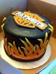 Harley Davidson fathers day cake