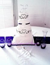 heartscroll wedding
