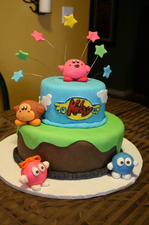 Kirby Lalala Lololo Birthday Cake Lolo S Cakes Amp Sweets