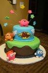 Kirby Lalala Lololo birthday cake