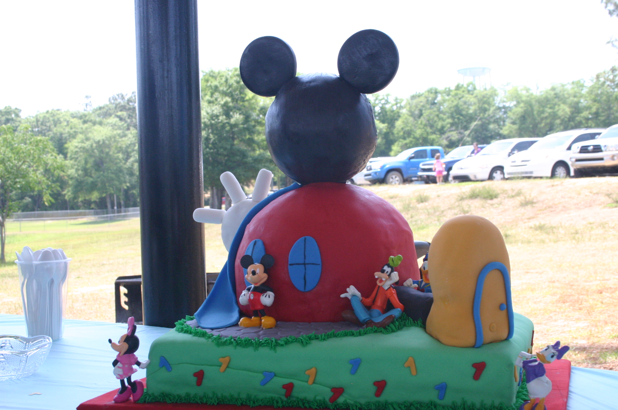 Mickey Mouse Clubhoue 1st Birthday Cake Lolos Cakes Sweets