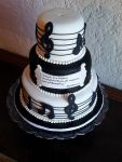Beethoven Music cake for SRMS band night