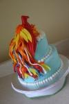 Phoenix firebird birthday cake