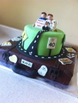 This is your life highway birthday cake