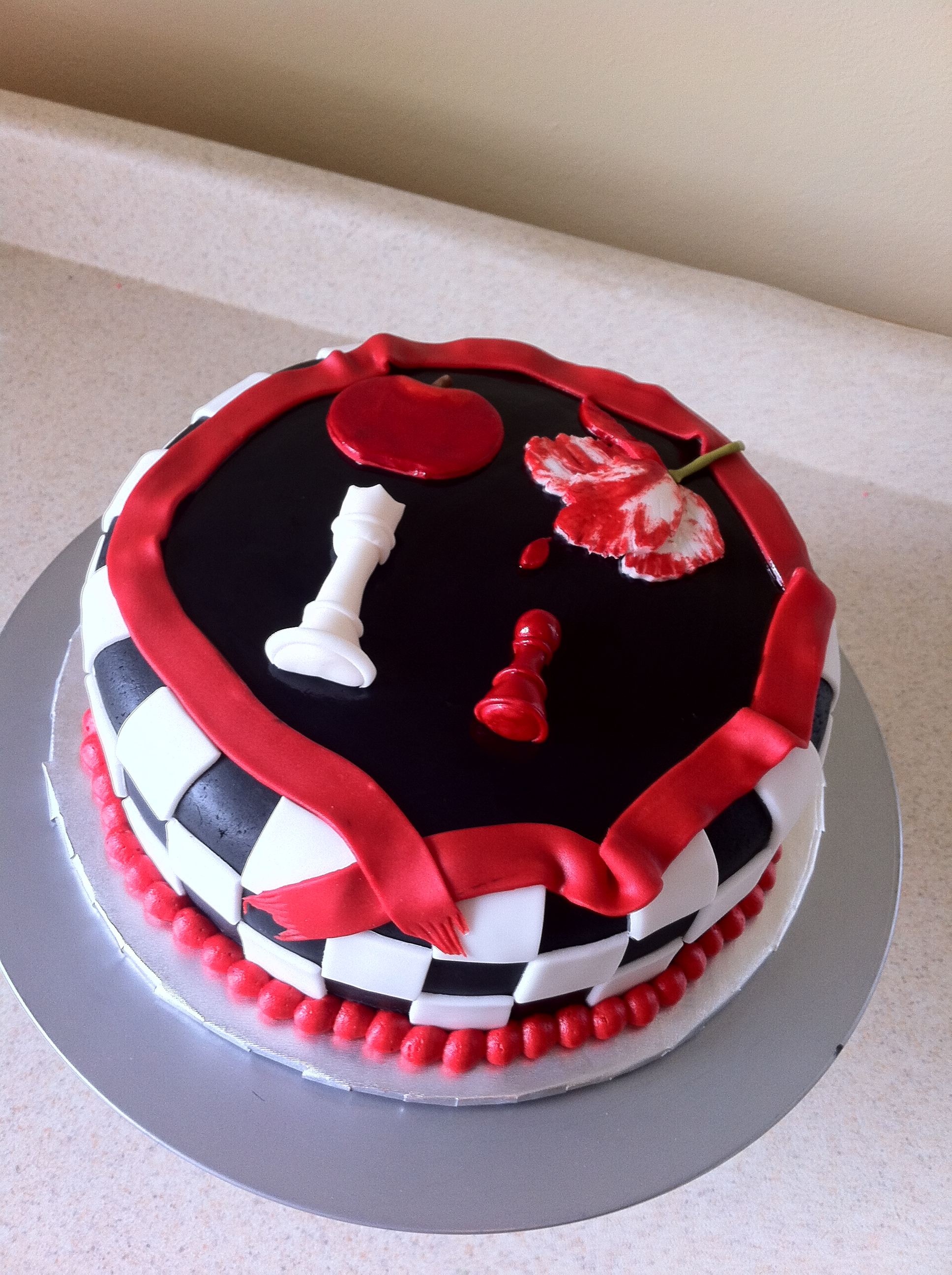 Stupendous Twilight Birthday Cake Lolos Cakes Sweets Funny Birthday Cards Online Overcheapnameinfo