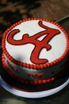 Univ of Alabama birthday cake