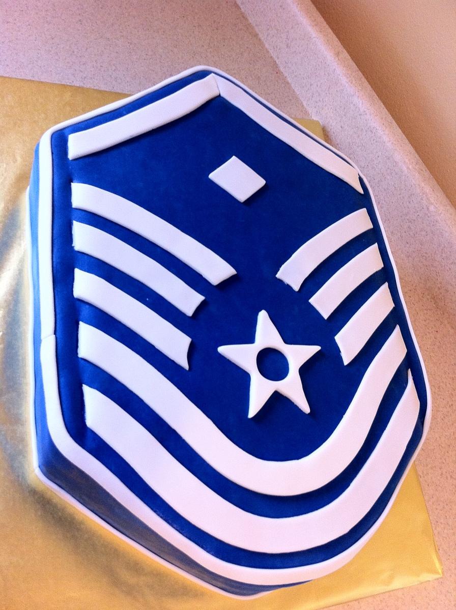 USAF retirement cake