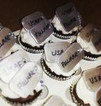 Dog tag cupcakes