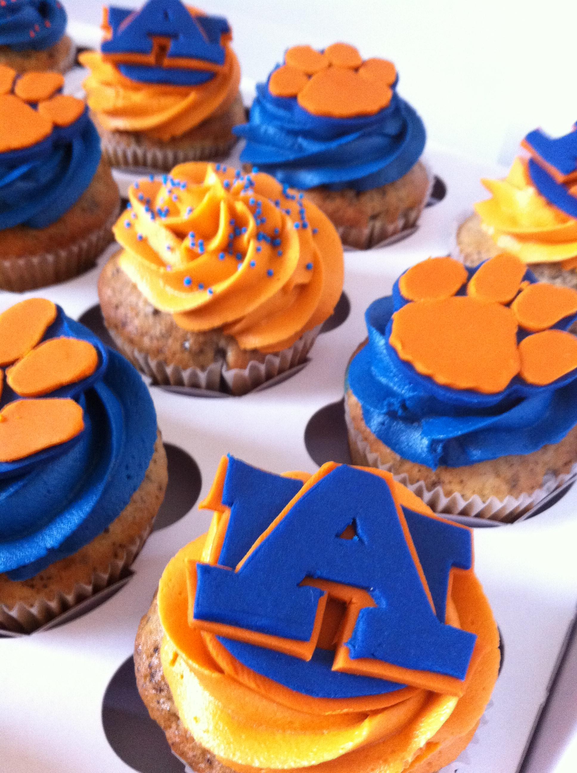 Auburn University Themed Cupcakes Lolo S Cakes Amp Sweets
