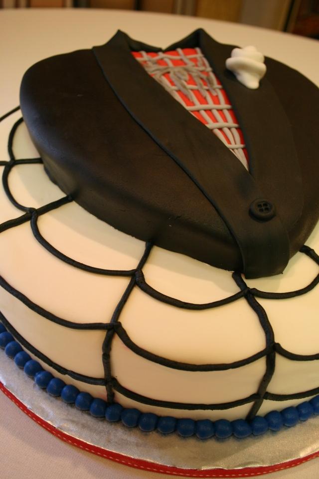 Spiderman Grooms cake