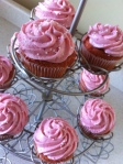 Tickled pink cupcakes