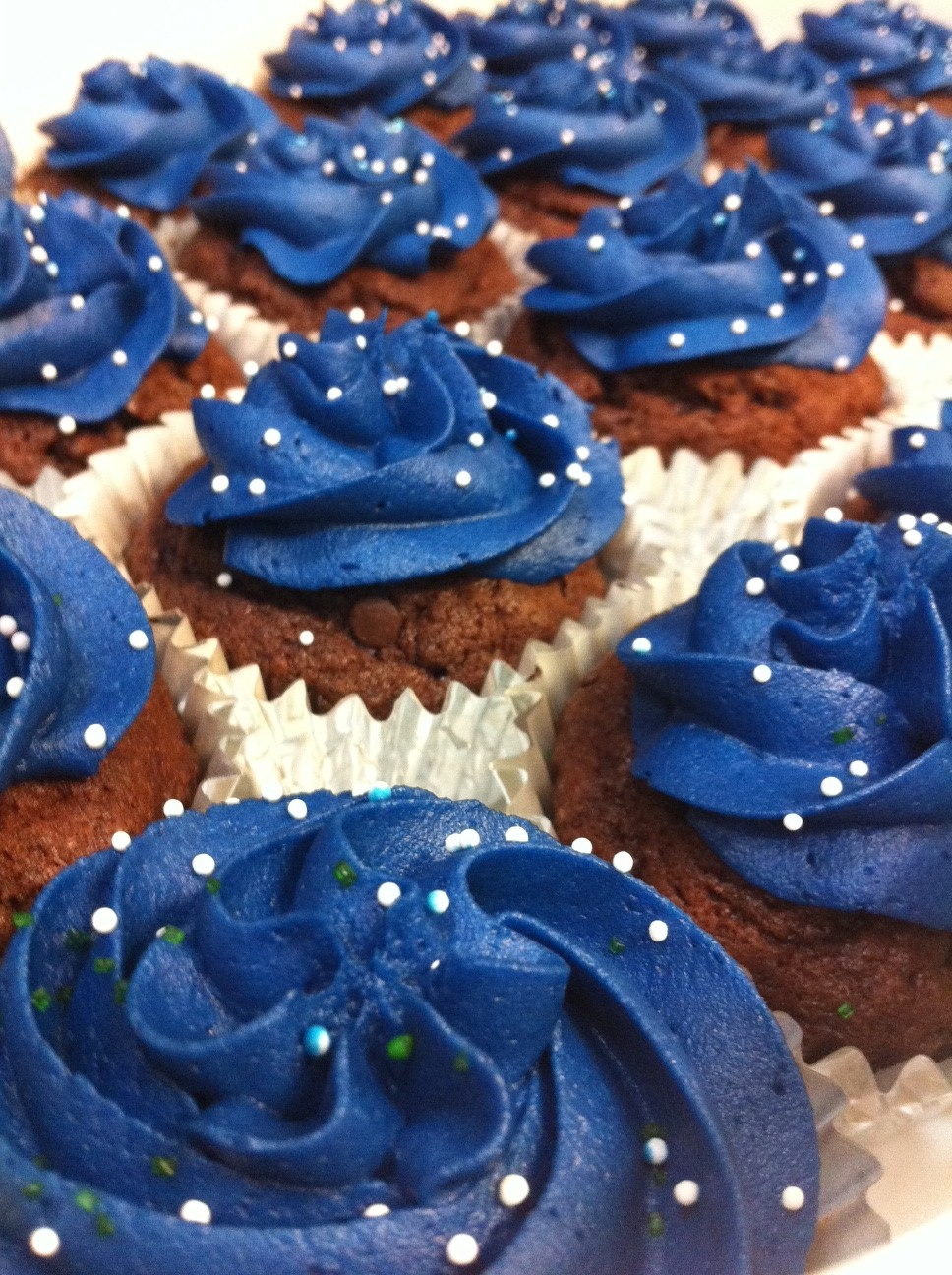 Dark Blue Cake Frosting
