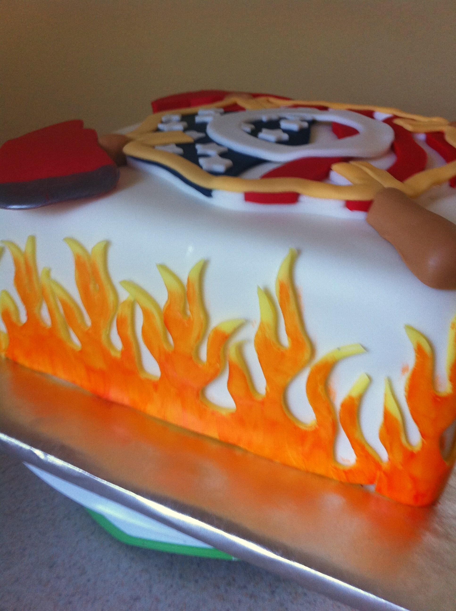 Firefighter Cake Cutter