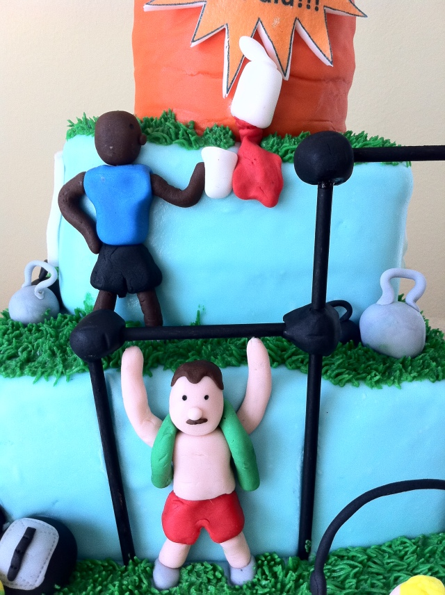 Crossfit cake pull ups