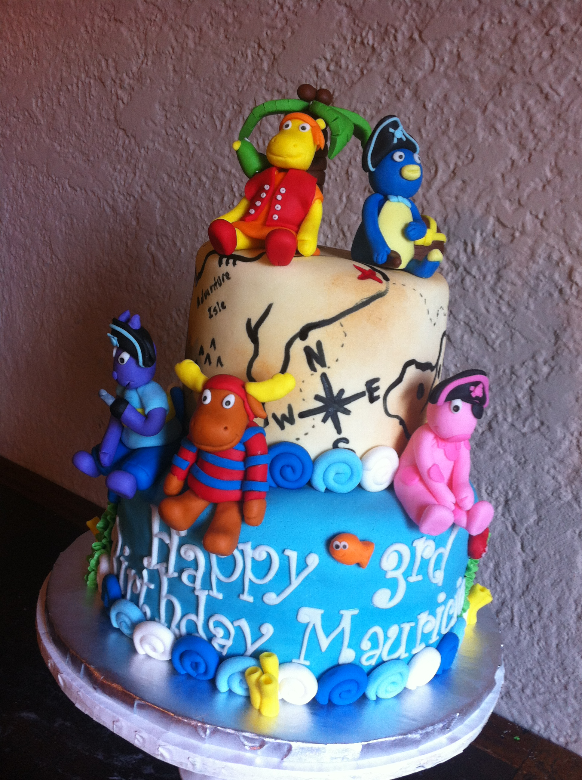 Backyardigans Birthday Cake Lolos Cakes Sweets