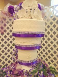 Chandalier Cake 2