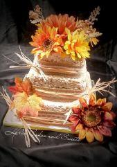 """Trinity"". Unconventional wedding cake made of rice crispy treats!"